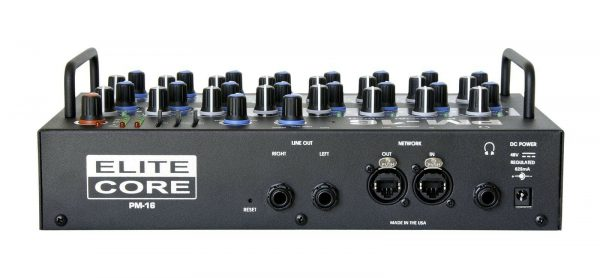 Elite Core PM-16 16 Channel Personal Monitor Mixer