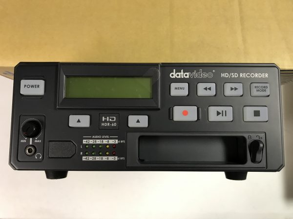 Datavideo HDR60 HD/SD Digital Video Recorder w/320HDD and extra HD case