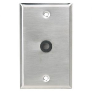 Atlas Sound SG-38GH Wall Plate 3/8″ Hole With Grommet
