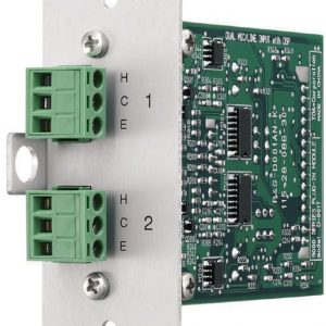Toa Electronics D-001T – Dual Mic/Line Input Module with DSP for Series 9000 Amplifiers