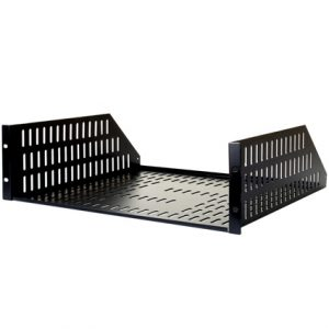 SNAPAV SR-SHELF-FIXED-3U STRONG FIXED METAL RACK SHELF 3U (BLACK)