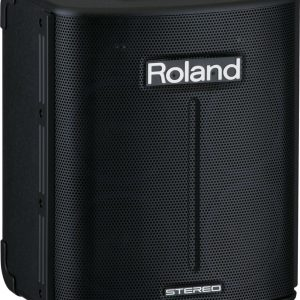 Roland BA-330 Portable Stereo PA System with Four 6.5″ Speakers, Aux Input, & Battery Power Support
