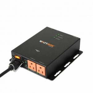 WattBox 200 Series IP+ Controllable Compact Power Conditioner – 3 Outlets (2 Controlled) WB-200-IPCE-3