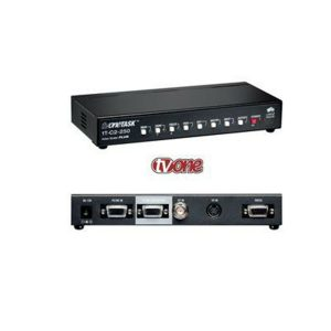 TV-ONE 1T-C2-250 High Resolution Analog Video Scaler w/ Genlock and Keying