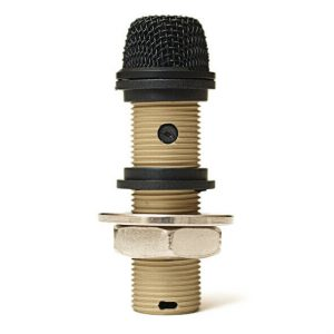 "CAD 220VP VARIABLE POLAR PATTERN INSTALLATION BOUNDARY ""BUTTON"" MICROPHONE BLACK"