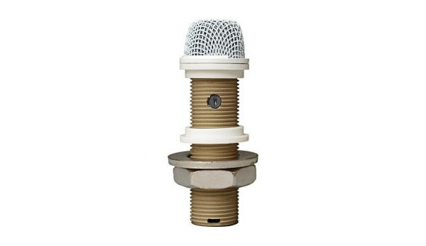 "CAD 220VPW VARIABLE POLAR PATTERN INSTALLATION BOUNDARY ""BUTTON"" MICROPHONE WHITE"