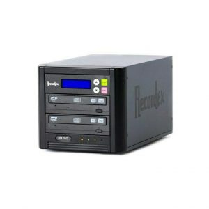 Recordex DVD100 TechDisc Pro DVD Duplicator (1) 20X/48X DVD/CD RECORD DRIVE