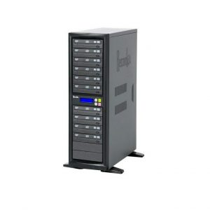 RECORDEX DVD1000 TechDisc Pro DVD Duplicator SOURCE DRIVE + (10) 22X/48X DVD/CD RECORD DRIVES