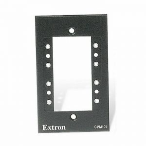60-583-11 EXTRON ONE-GANG MAAP MOUNTING FRAME – CPM101 Wall Plate Black