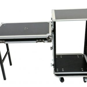 ELITE CORE OSP RC16U-20SL 16 SPACE ATA AMP RACK W/CASTERS & STANDING LID