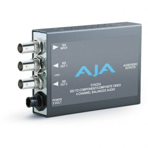 AJA HD10CEA SD/HD-SDI TO ANALOG AUDIO / VIDEO CONVERTER